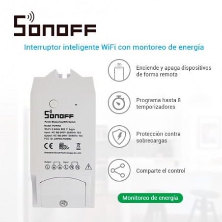SWITCH ON/OFF SONOFF POW R2...